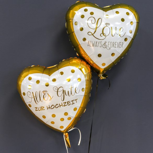 Ballons zur Hochzeit - Herzballons je € 5,50 73