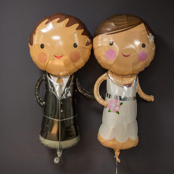 Heliumballons Brautpaar