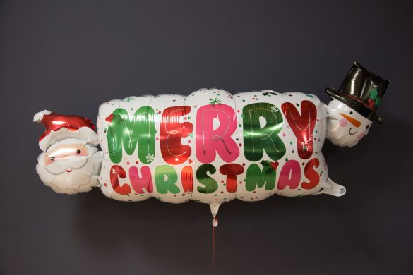 Weihnachten Heliumballon Merry Christmas