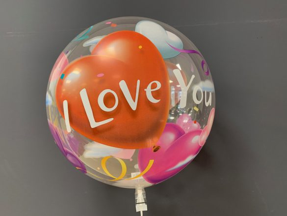 Runder Ballon I Love You