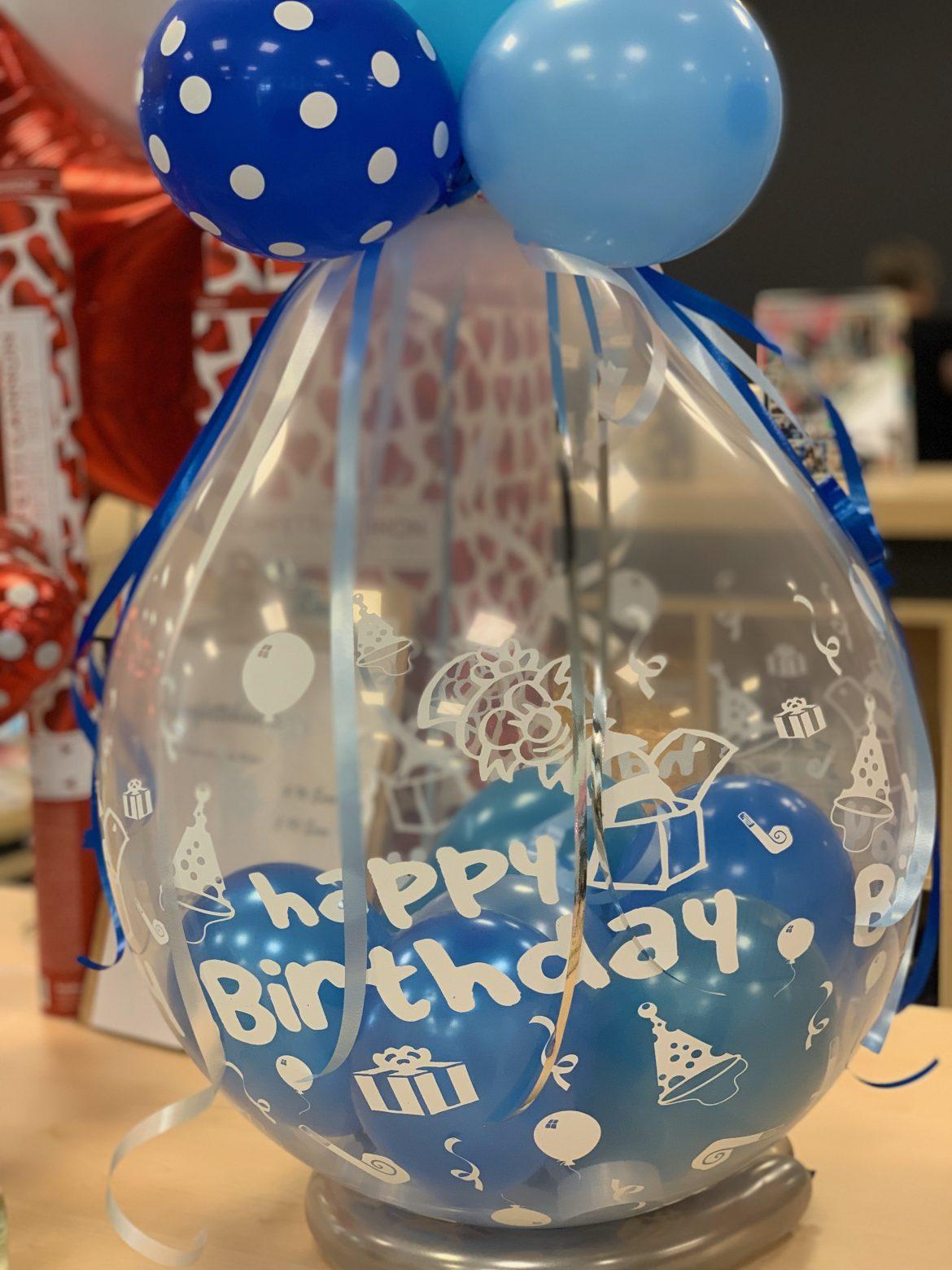 gefüllter Ballon