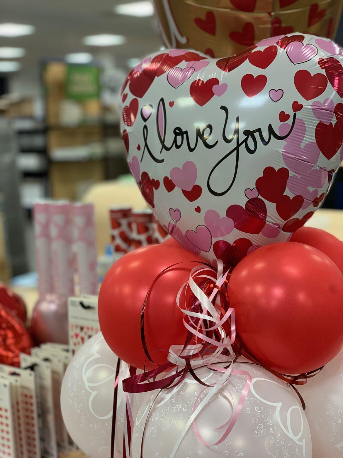 I love you Ballon