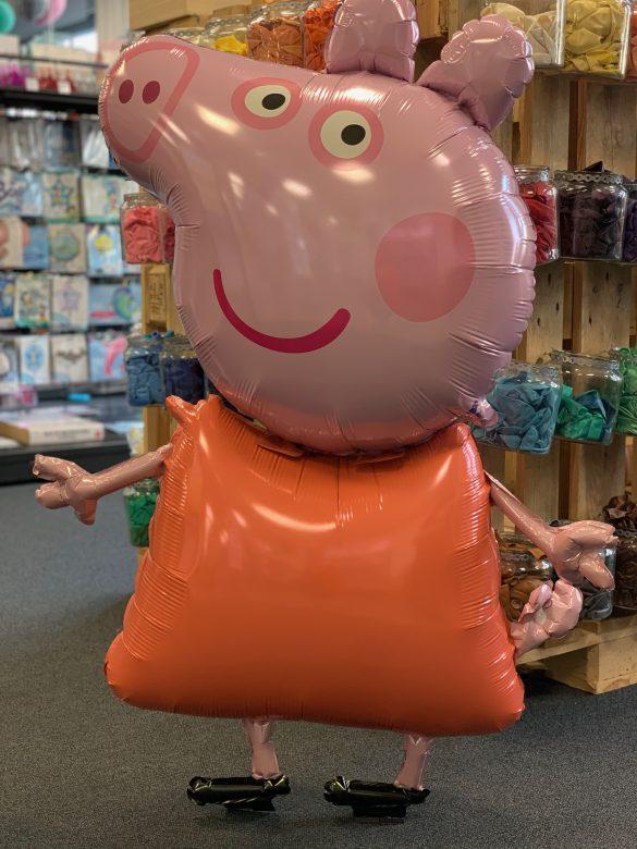 Heliumballon Peppa Wutz