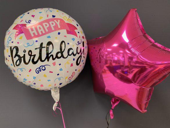 Heliumballon Happy Birthday