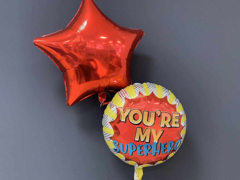 Heliumballon Super Hero