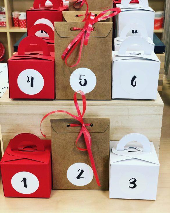 Geschenkboxen Adventskalender