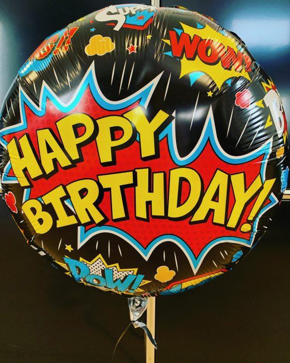 Happy Birthday WOW Ballon