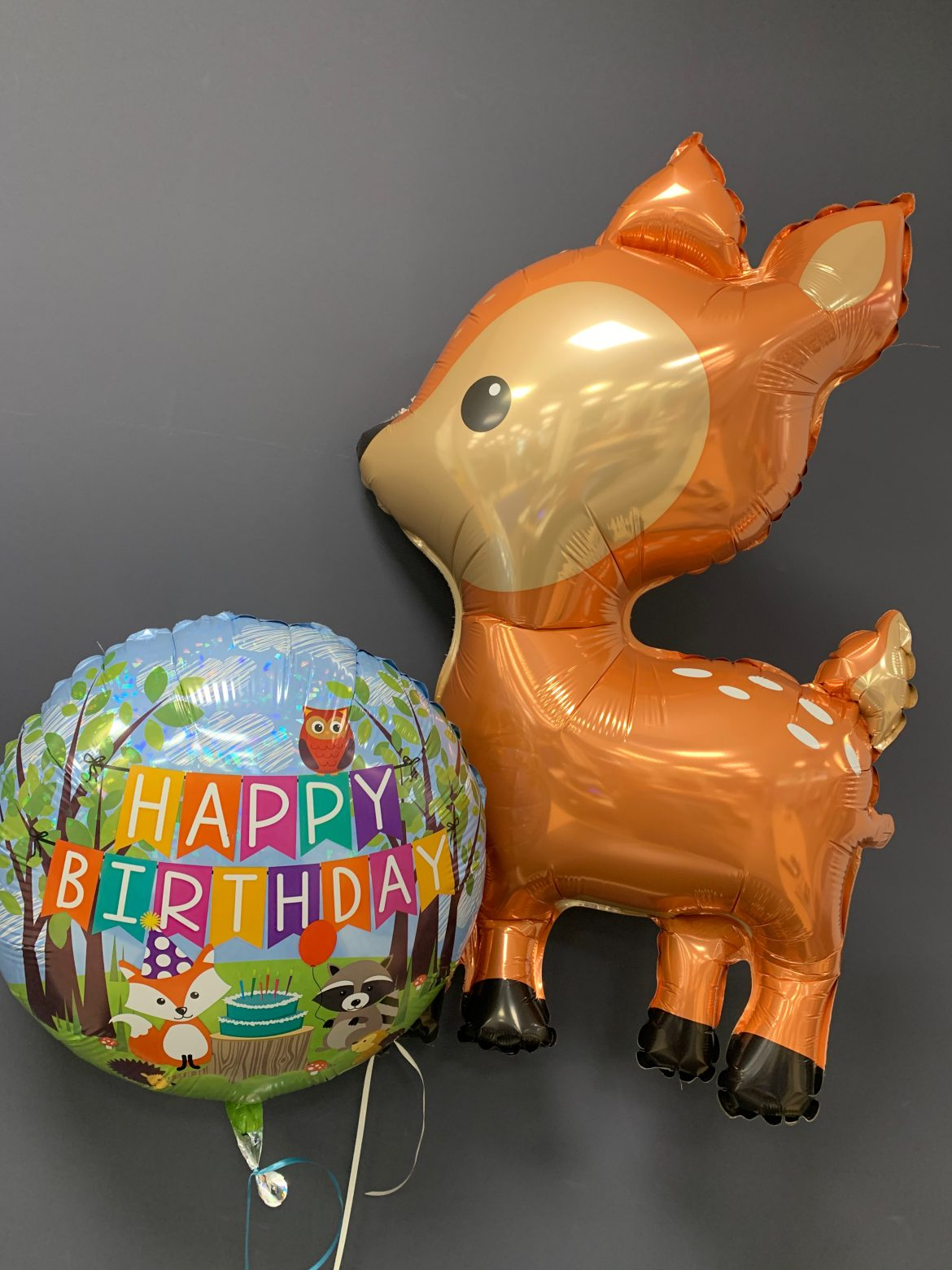 Happy Birthday mit Reh