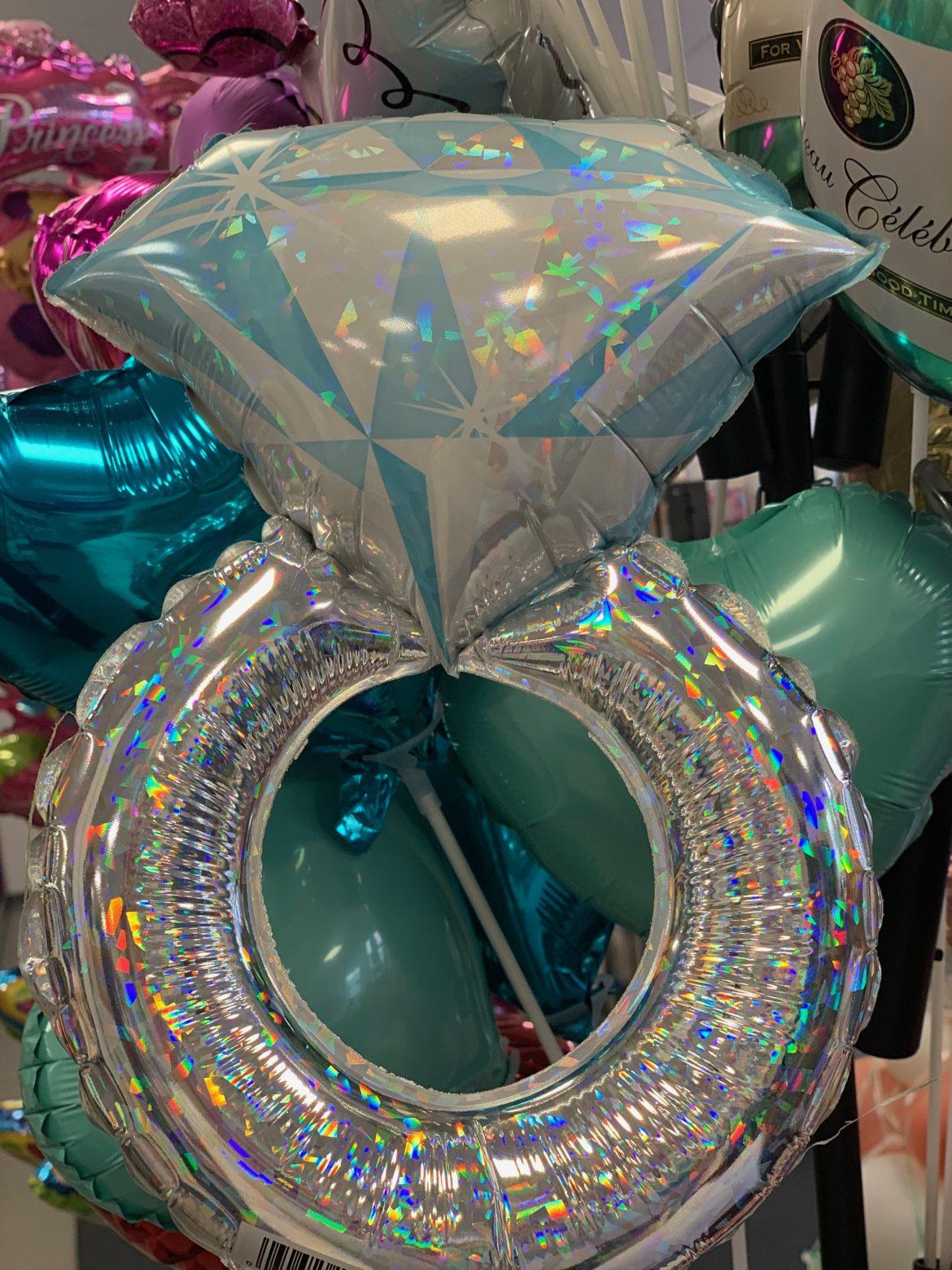 Heliumballon Verlobungsring