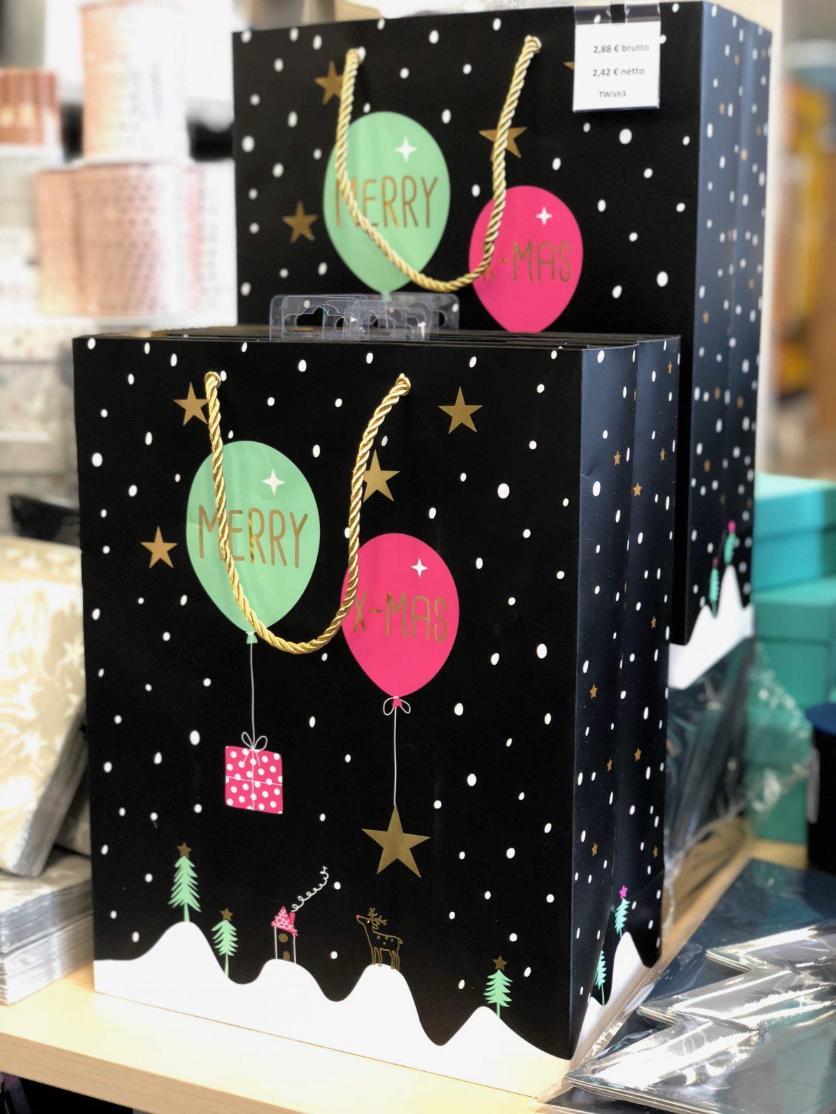 Weihnachtstüten Merry X-MAS