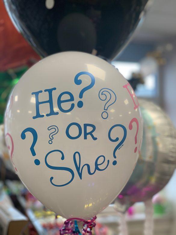 Ballon zur Geburt 3