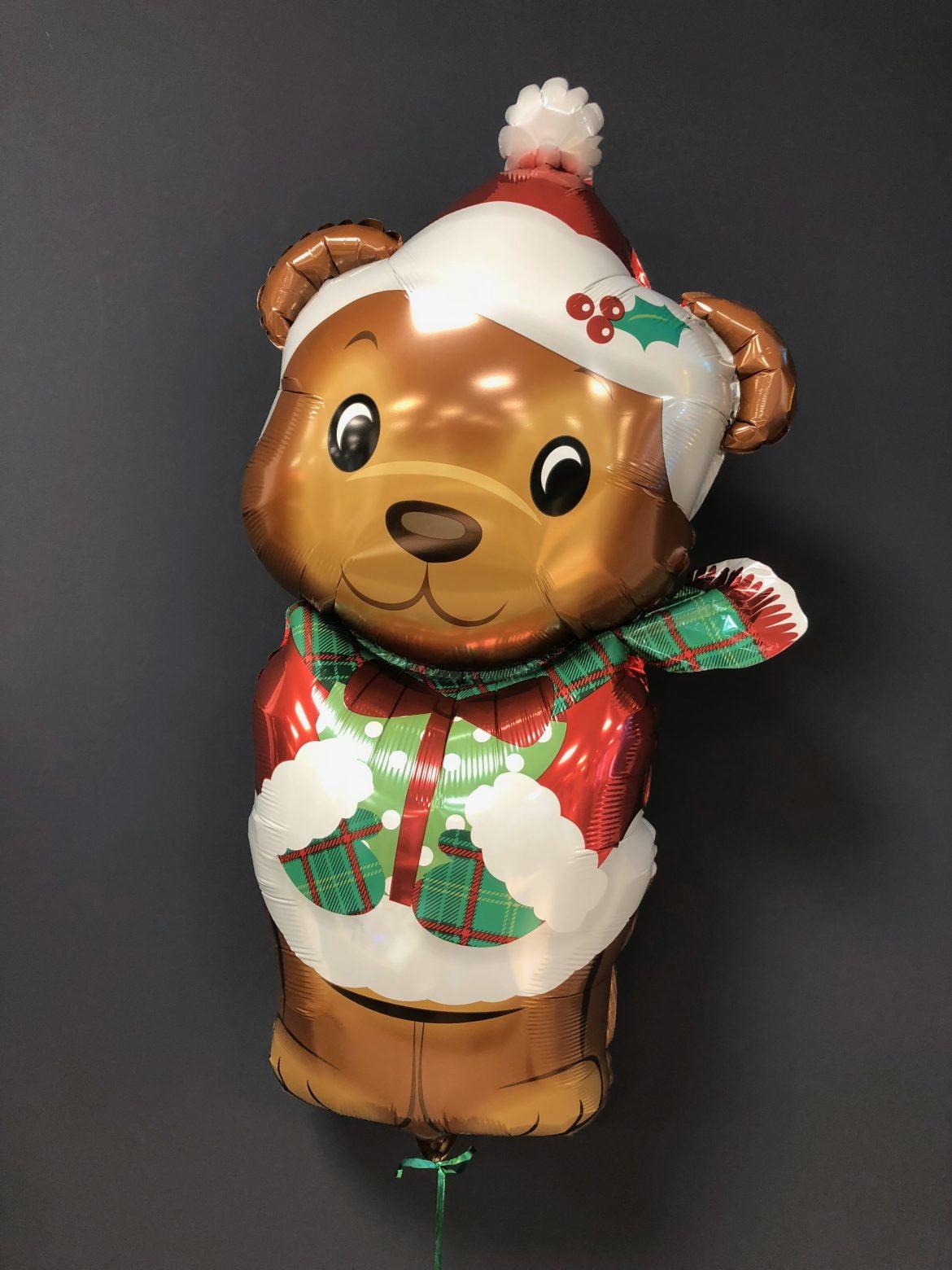 Ballon Weihnachtsbär