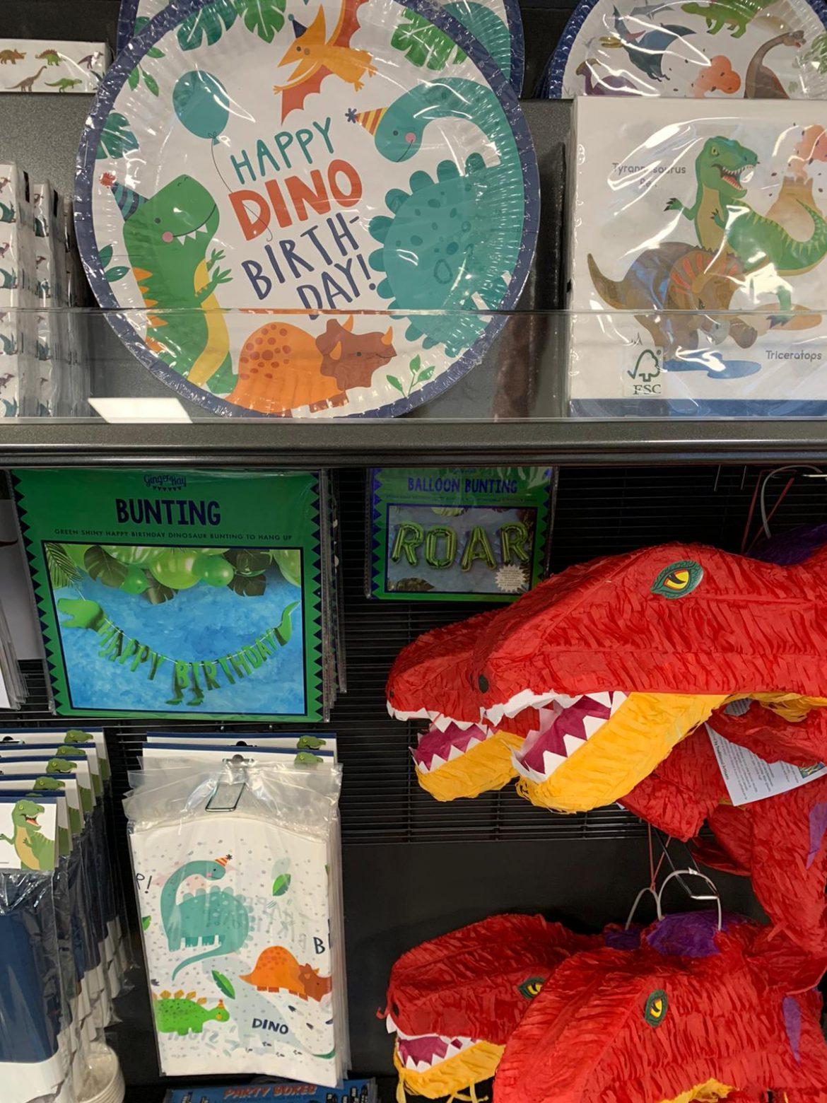 Partygeschirr Dino