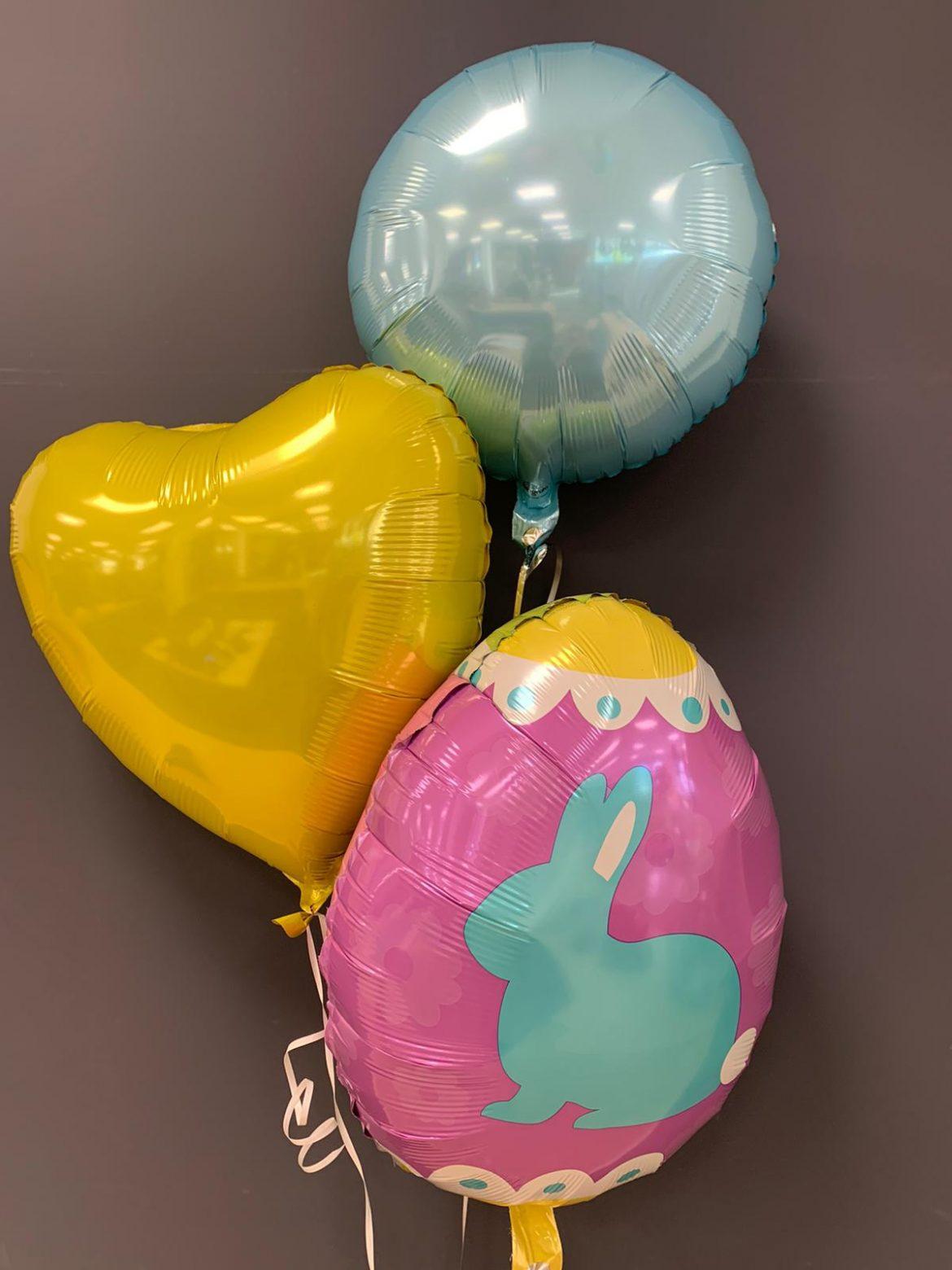 Ballon Ei und Haase