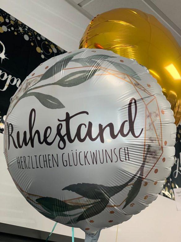 Herzlichen Glückwunsch zum Ruhestand Ballon € 5,90 65