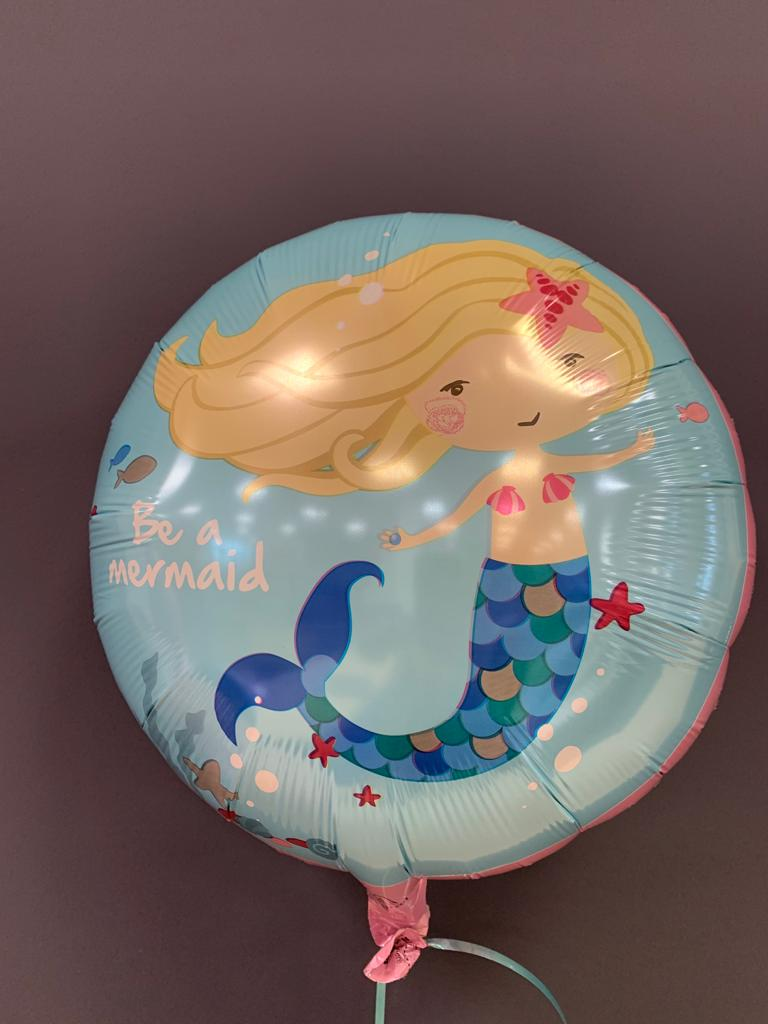 Meerjungfrau Ballon<br />Be A Mermaid € 5,50 1