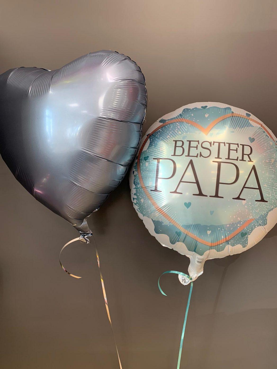 Folienballon Bester Papa € 5,90 und Dekoballon € 4,50 1