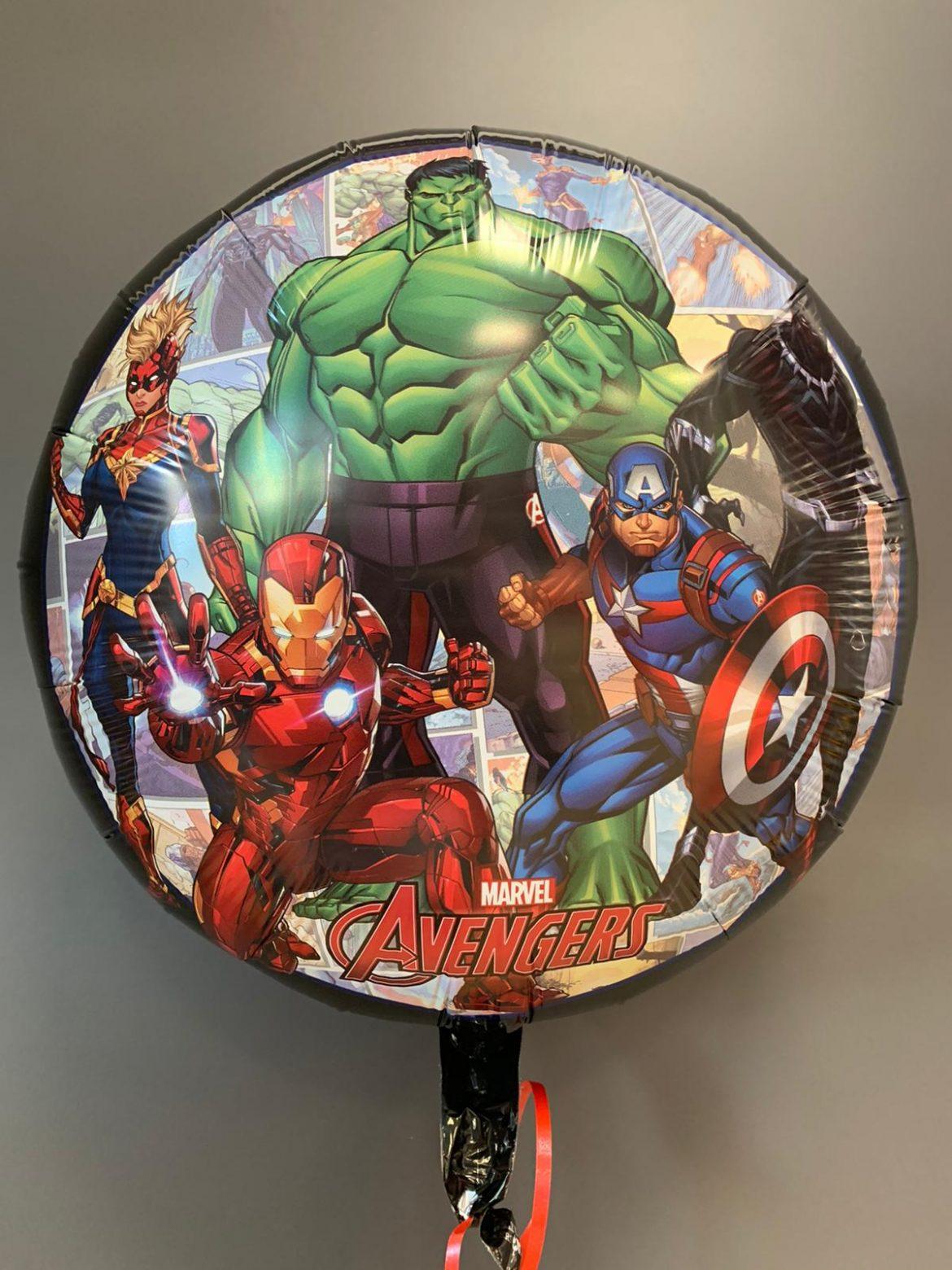 Heliumballon Avengers 1