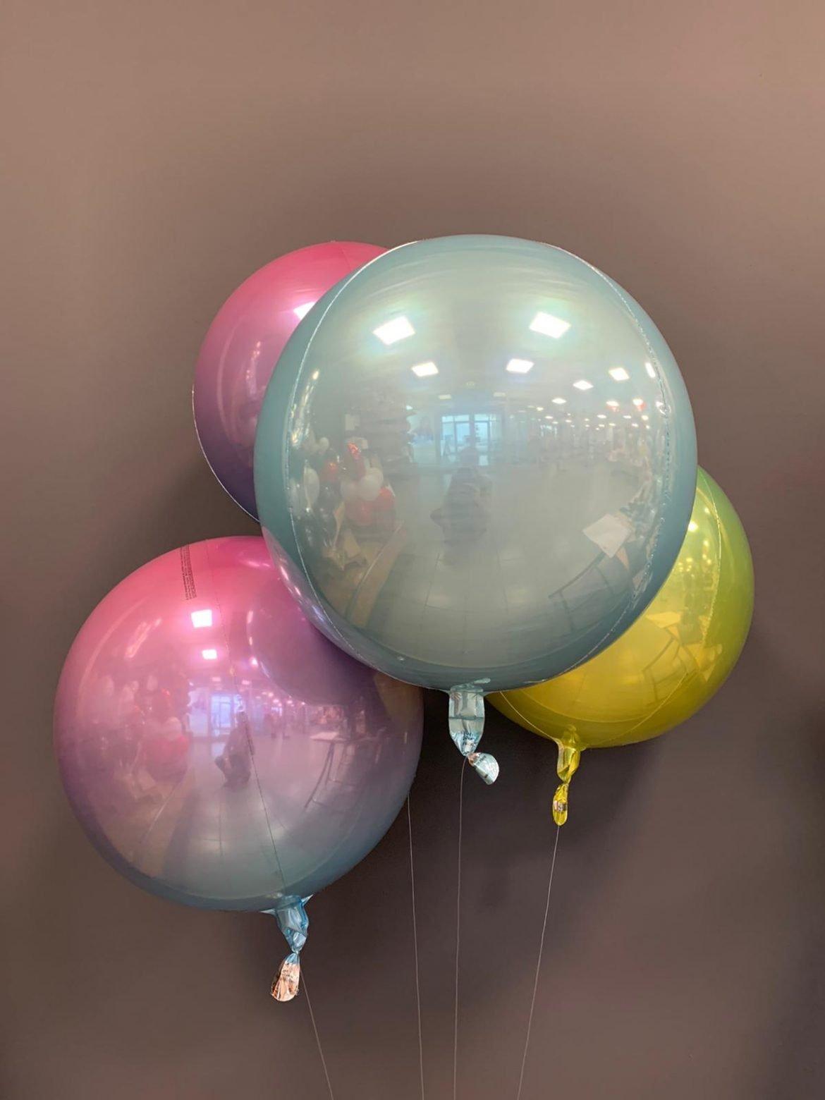Runde Ballons zur Dekoration 1