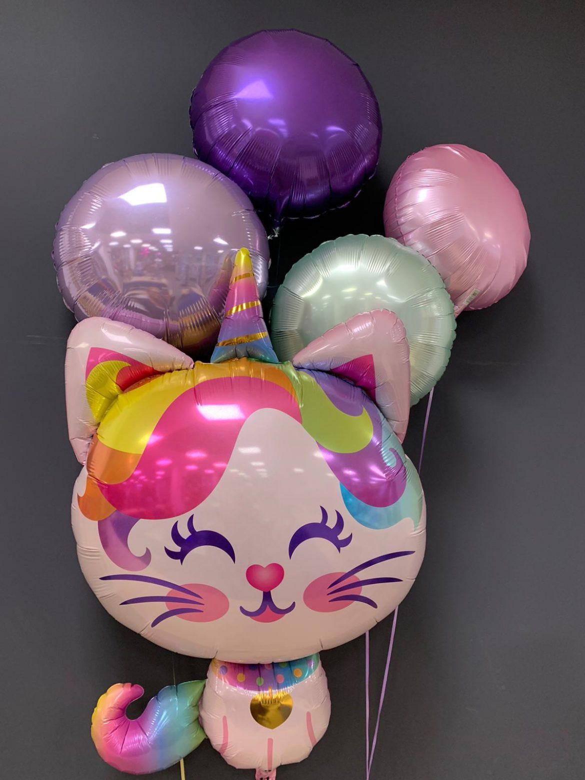 Einhorn-Katze Ballon € 8,90 Dekoballons je € 4,50 1