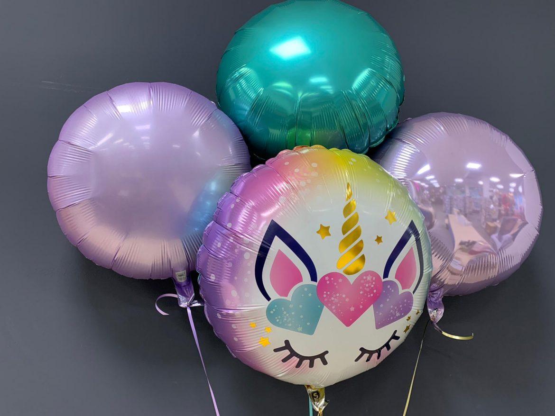Einhornballon € 5,50 Dekoballons je € 4,50 1