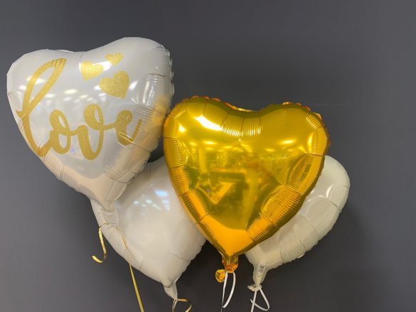 Love Ballon € 5,90 und Dekoherzballons je € 4,50 50