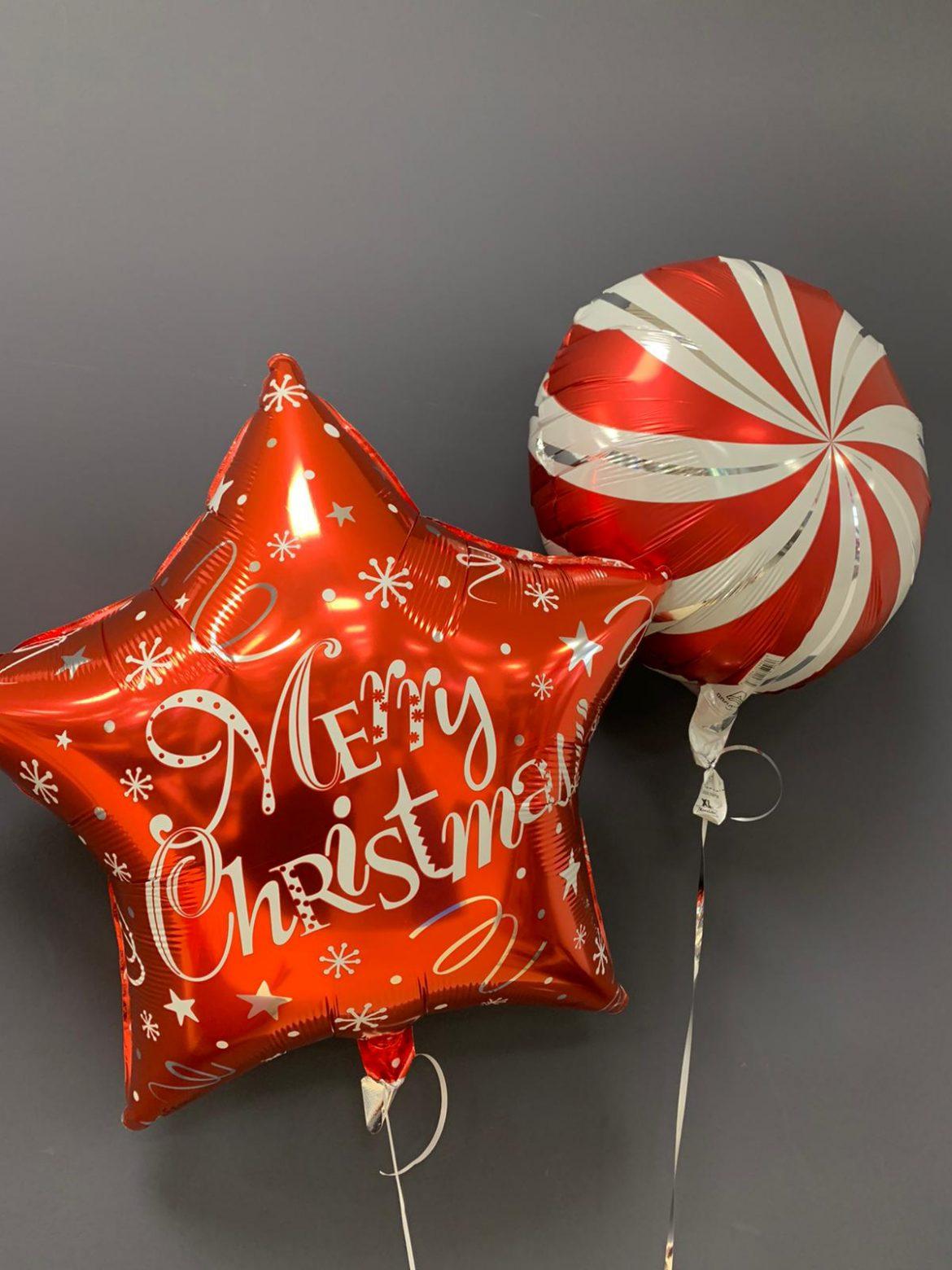 Merry Christmas Weihnachtsballon 1