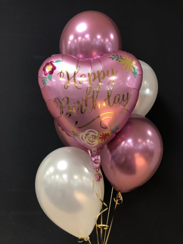 Happy Birthday € 5,50<br />Latexballons je € 1,95 378