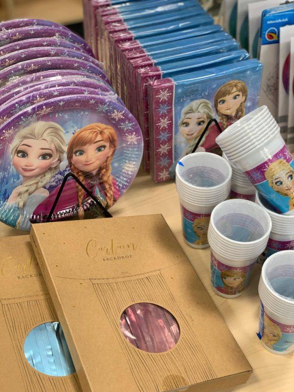 Elsa Frozen Partygeschirr 11