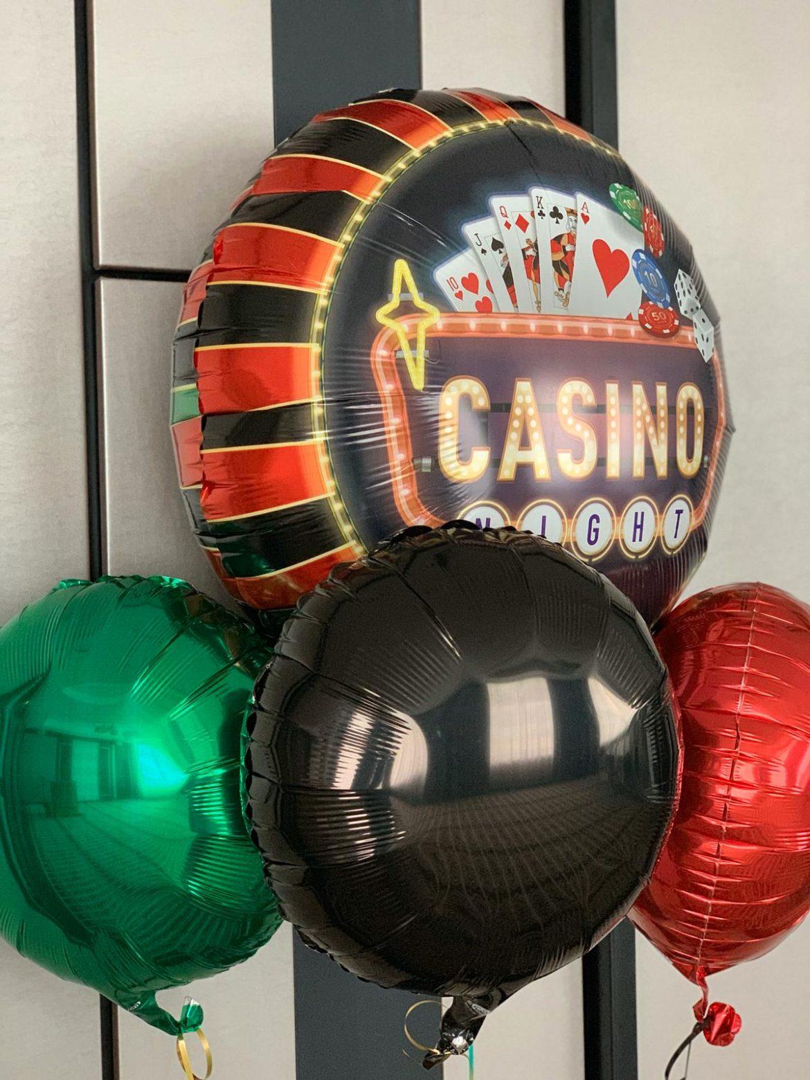 Casino Party Ballon 1