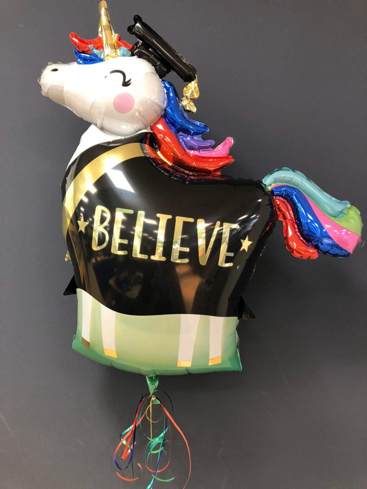 Believe Ballon zum Schulabschluss 1