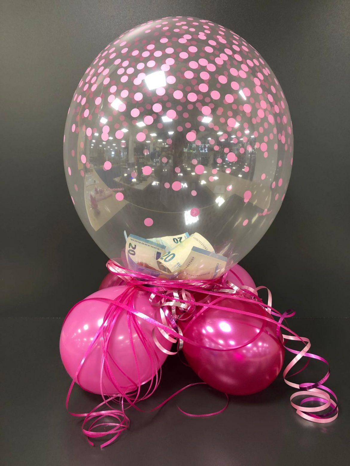 Ballongeschenk gefüllter Ballon € 14,90 1