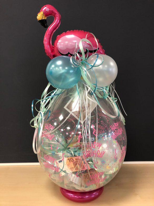 Ballongeschenk mit Flamingo € 14,90 358