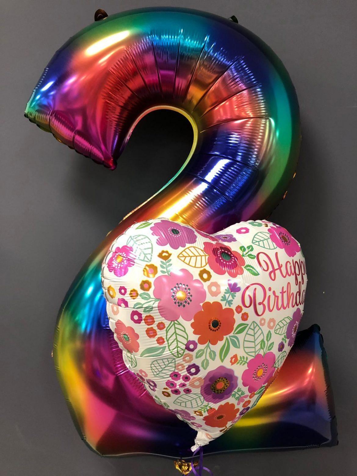 Zahlenballon 2 € 9,90 1