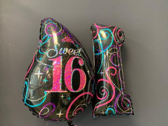 Zahlen Sweet 16 mit Aufdruck 33