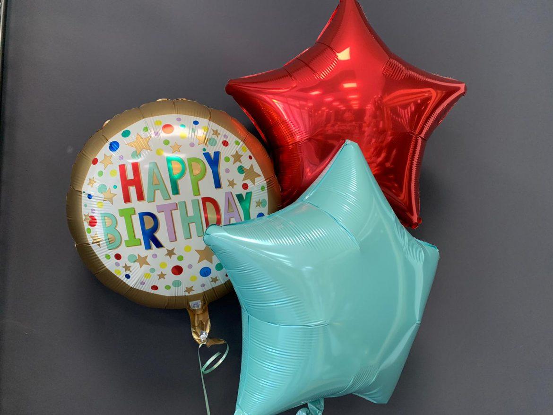 Geburtstagsballon €5,50<br />Dekoballons €4,50 1