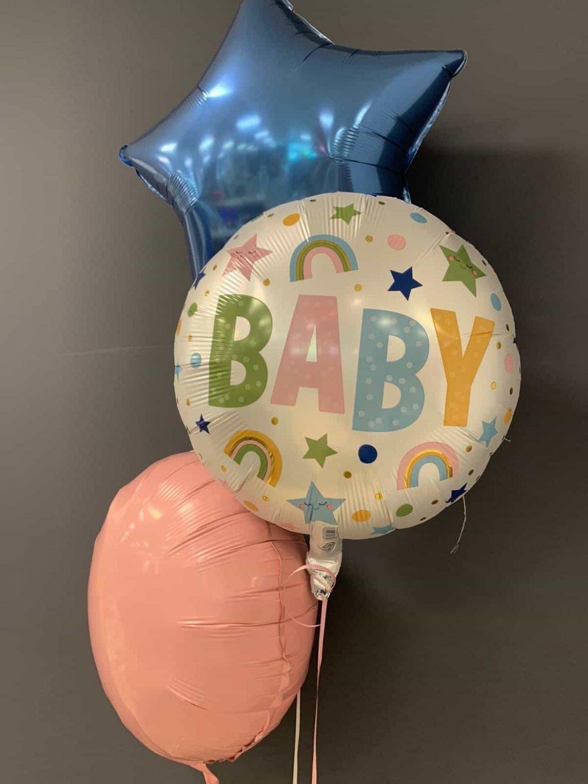 Welcome Baby €5,90<br />2 Dekoballons je €4,50 1