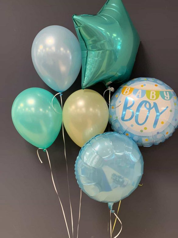 Baby Boy €5,50<br />Dekoballons €4,50<br />Latexballons €1,95 39