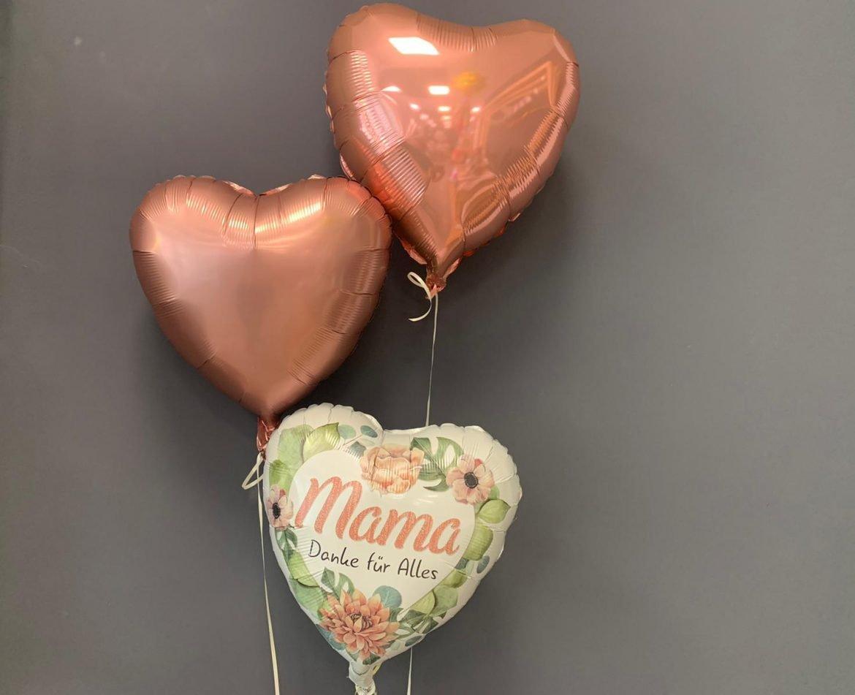 Mama Danke Ballon € 5,90 und Dekoballons € 4,50 1