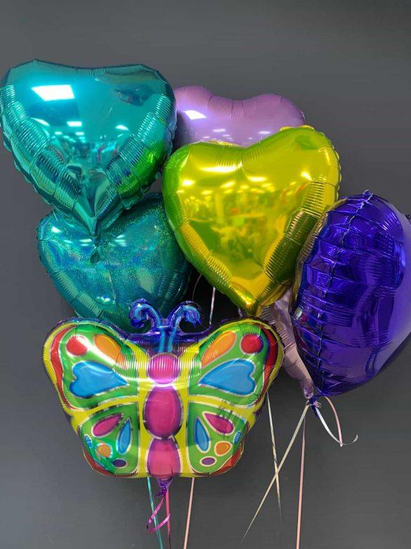 Schmetterling Ballon € 5,50 und Dekoballons je € 4,50 84