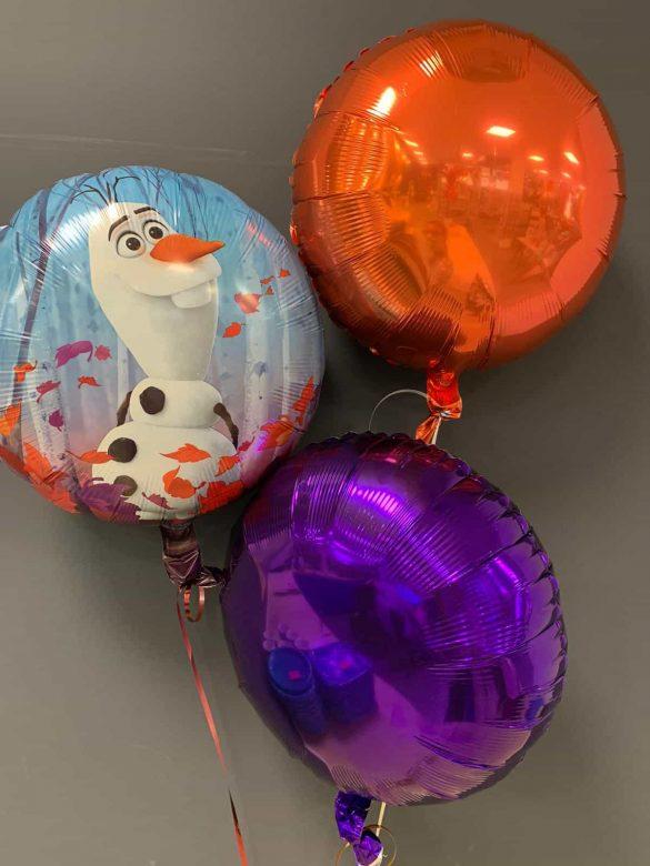 Frozen Heliumballon € 5,50 mit Dekoballons € 4,50 88