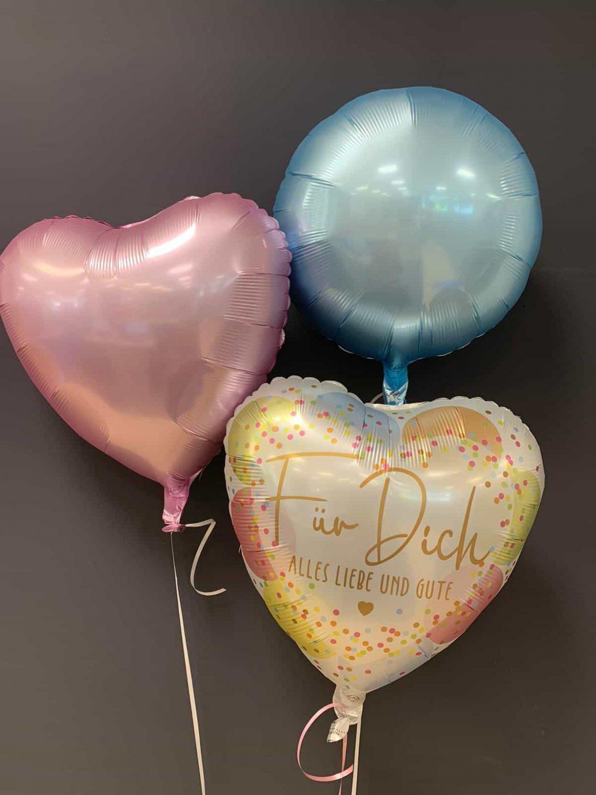 Ballon Für Dich Alles Liebe und Gute € 5,90 und Dekoballons € 4,50 1