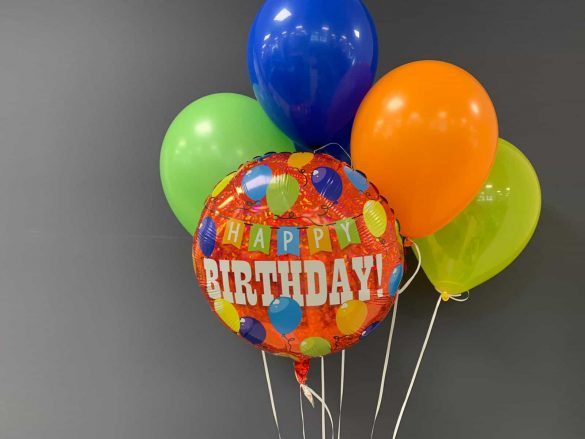 Happy Birthday € 5,50<br />Latexballons € 1,95 263