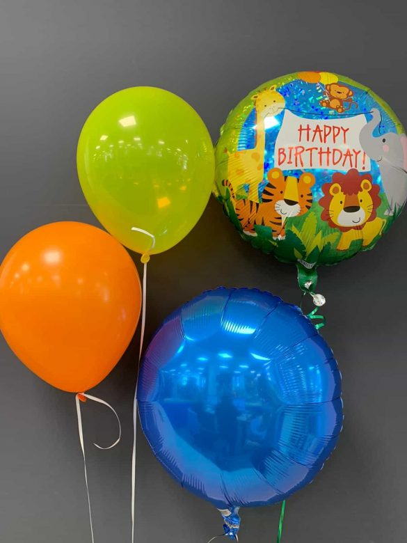 Happy Birthday € 5,50<br />Dekoballon € 4,50<br />Latexballons € 1,95 209