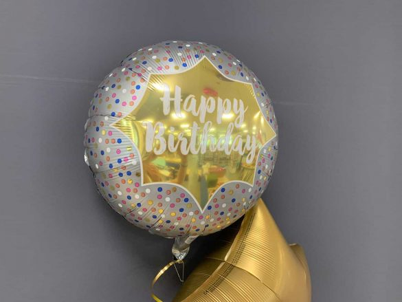 Happy Birthday Ballon gold € 5,50 281