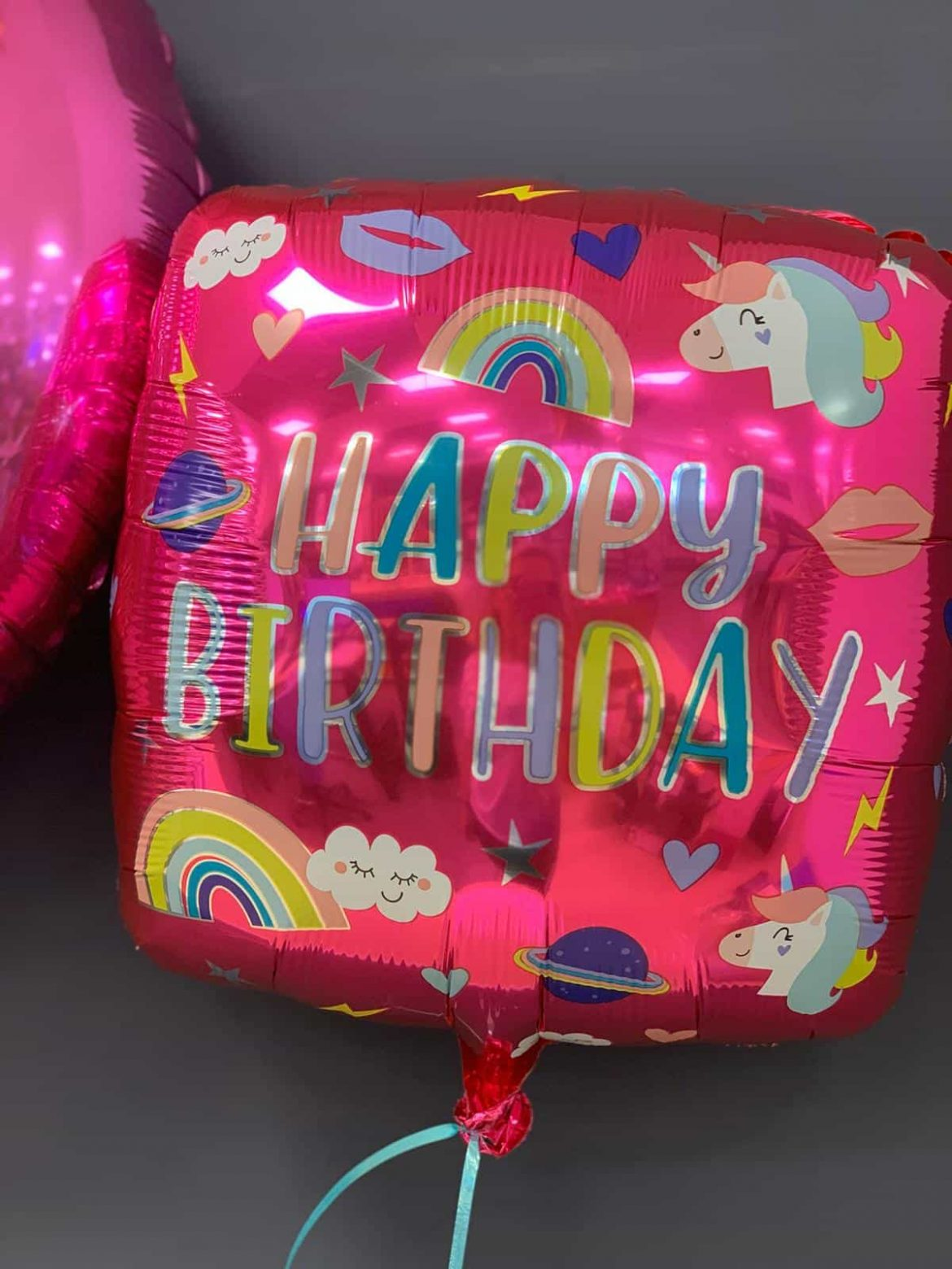 Happy Birthday Ballon Quadratisch € 5,50 1