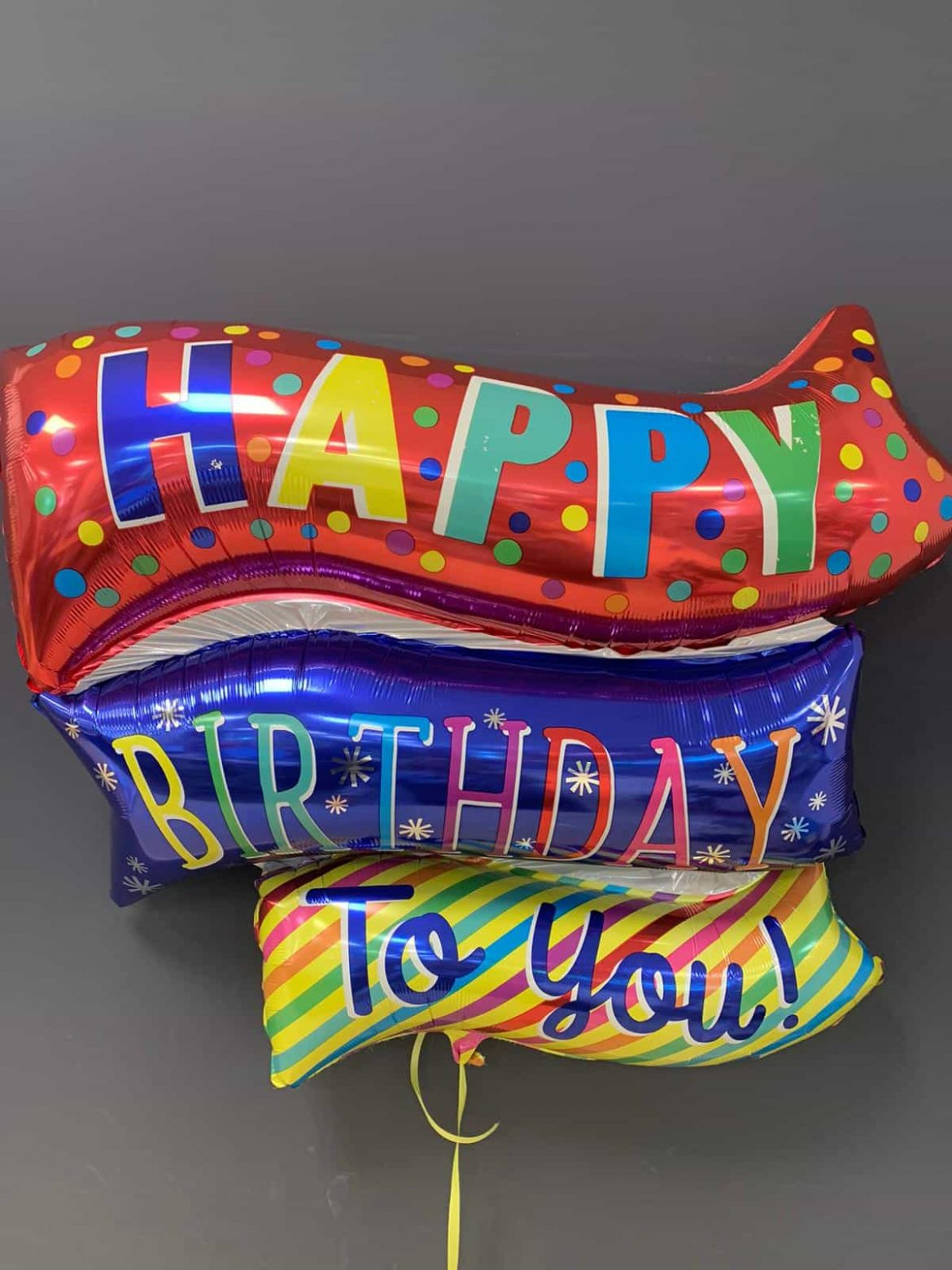 Bunter Heliumballon Happy Birthday € 8,90 1