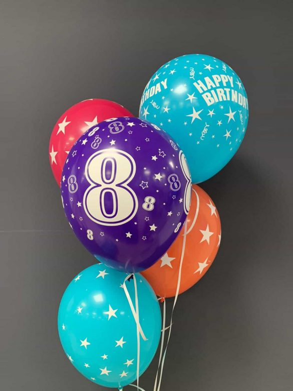 Latexballons  €2,20<br />zum Geburtstag 156