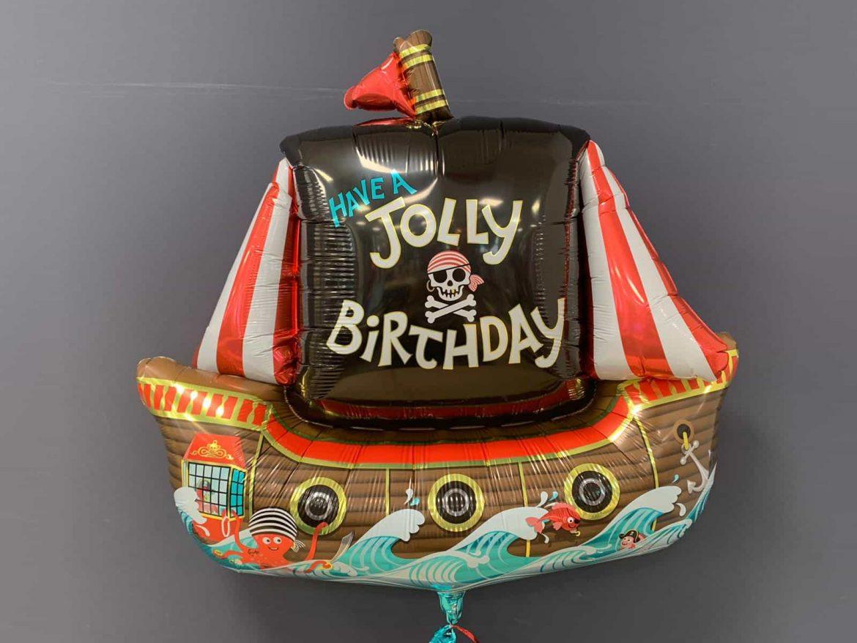 Heliumballon Piratenschiff Jolly Birthday € 8,90 1