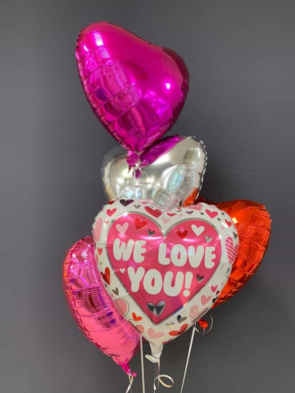 We love you € 5,50<br />Dekoballons je € 4,50 243